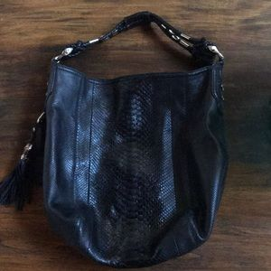 Gucci Extra large python hobo authentic